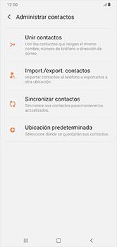 ¿Tu equipo puede copiar contactos a la SIM card? - Samsung Galaxy A10 - Passo 6