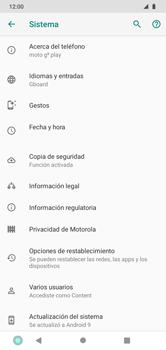 Restaura la configuración de fábrica - Motorola Moto G8 Play (Single SIM) - Passo 6