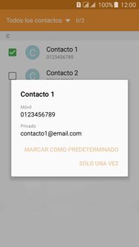 Envía fotos, videos y audio por mensaje de texto - Samsung Galaxy J7 - J700 - Passo 6