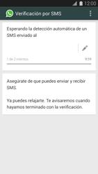 Configuración de Whatsapp - Samsung Galaxy S5 - G900F - Passo 7