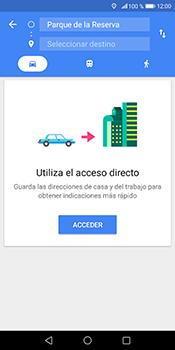 Uso de la navegación GPS - Huawei Mate 10 Pro - Passo 12