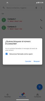 Cómo bloquear llamadas - Motorola Moto G9 Plus - Passo 6