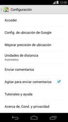 Uso de la navegación GPS - Motorola Moto E (1st Gen) (Kitkat) - Passo 8