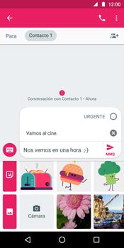 Envía fotos, videos y audio por mensaje de texto - Motorola Moto G6 Plus - Passo 10
