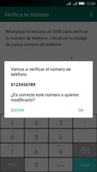 Configuración de Whatsapp - Huawei G Play Mini - Passo 5