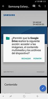 Descargar contenido de la nube - Samsung Galaxy Note 8 - Passo 11