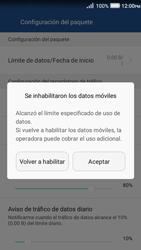 Desactivación límite de datos móviles - Huawei Y3 II - Passo 8