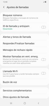 Configuración del identificador de llamadas - Samsung Galaxy A30 - Passo 7