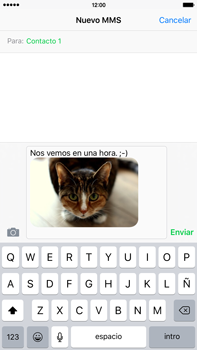 Envía fotos, videos y audio por mensaje de texto - Apple iPhone 6s Plus - Passo 12