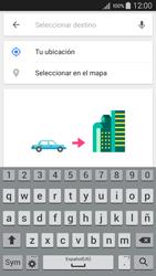 Uso de la navegación GPS - Samsung Galaxy A5 - A500M - Passo 11