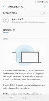 Configura el hotspot móvil - Samsung J6 - Passo 11
