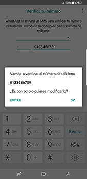 Configuración de Whatsapp - Samsung Galaxy S8+ - Passo 9