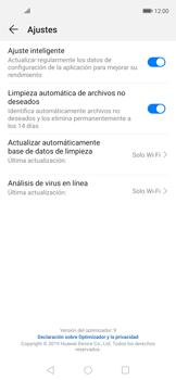 Cómo habilitar el análisis de virus - Huawei Nova 5T - Passo 7
