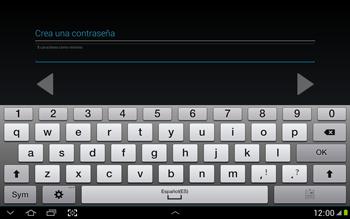 Crea una cuenta - Samsung Galaxy Note 10-1 - N8000 - Passo 12