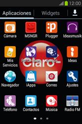 Configura el hotspot móvil - Samsung Galaxy Fame GT - S6810 - Passo 3