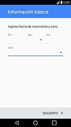 Crea una cuenta - LG G5 - Passo 7
