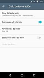 Desactivación límite de datos móviles - Sony Xperia XZ Premium - Passo 8