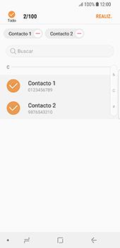 ¿Tu equipo puede copiar contactos a la SIM card? - Samsung Galaxy S9 - Passo 11