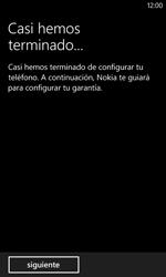 Activa el equipo - Nokia Lumia 620 - Passo 14