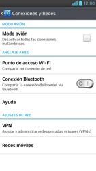 Configura el hotspot móvil - LG Optimus G Pro Lite - Passo 5