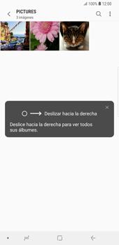Transferir fotos vía Bluetooth - Samsung Galaxy S9 Plus - Passo 7