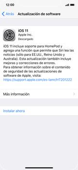 Actualiza el software del equipo - Apple iPhone X - Passo 7