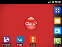 Uso de la navegación GPS - Samsung Galaxy Y Pro GT - B5510 - Passo 1