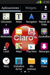 Envía fotos, videos y audio por mensaje de texto - Samsung Galaxy Fame GT - S6810 - Passo 2