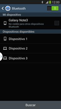 Conecta con otro dispositivo Bluetooth - Samsung Galaxy Note Neo III - N7505 - Passo 6