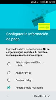 Crea una cuenta - Samsung Galaxy J7 - J700 - Passo 18