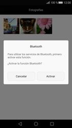 Transferir fotos vía Bluetooth - Huawei P8 - Passo 9