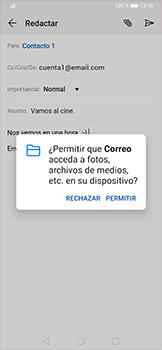 Cómo enviar un correo electrónico - Huawei P30 Pro - Passo 12