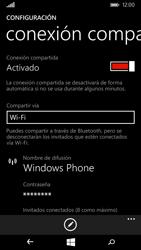 Configura el hotspot móvil - Microsoft Lumia 535 - Passo 8