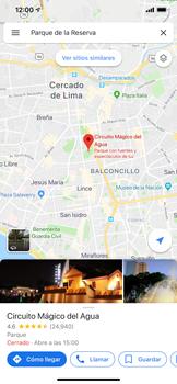Uso de la navegación GPS - Apple iPhone 11 - Passo 11