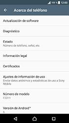 Actualiza el software del equipo - Sony Xperia E5 - Passo 6
