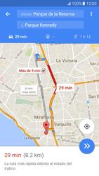Uso de la navegación GPS - Samsung Galaxy S7 - G930 - Passo 15