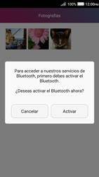 Transferir fotos vía Bluetooth - Huawei Y3 II - Passo 10