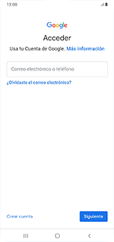 Crea una cuenta - Samsung Galaxy A10 - Passo 4