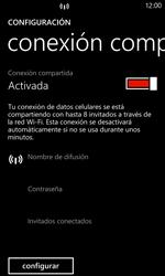 Configura el hotspot móvil - Nokia Lumia 925 - Passo 8