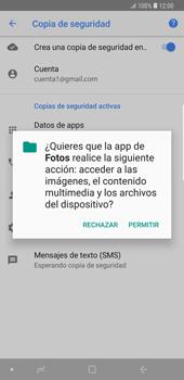 Realiza una copia de seguridad con tu cuenta - Samsung Galaxy Note 9 - Passo 11