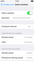 Desactiva tu conexión de datos - Apple iPhone SE - Passo 3