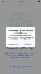 Configuración de Whatsapp - Apple iPhone 7 - Passo 5