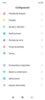 Habilitar seguridad de huella digital - Xiaomi Redmi Note 9 Pro - Passo 3