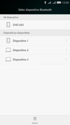 Transferir fotos vía Bluetooth - Huawei G Play Mini - Passo 11