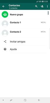 Usar WhatsApp - Samsung Galaxy Note 8 - Passo 4