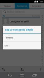 ¿Tu equipo puede copiar contactos a la SIM card? - Huawei Ascend P6 - Passo 7