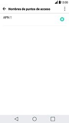 Configura el Internet - LG G5 - Passo 7