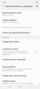 Cómo configurar el Face ID - Samsung Galaxy A51 - Passo 5