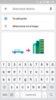 Uso de la navegación GPS - Samsung Galaxy J7 Prime - Passo 16