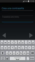 Crea una cuenta - Samsung Galaxy Alpha - G850 - Passo 10